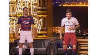 Messi y Cristiano Ronaldo estuvieron juntos en la tele