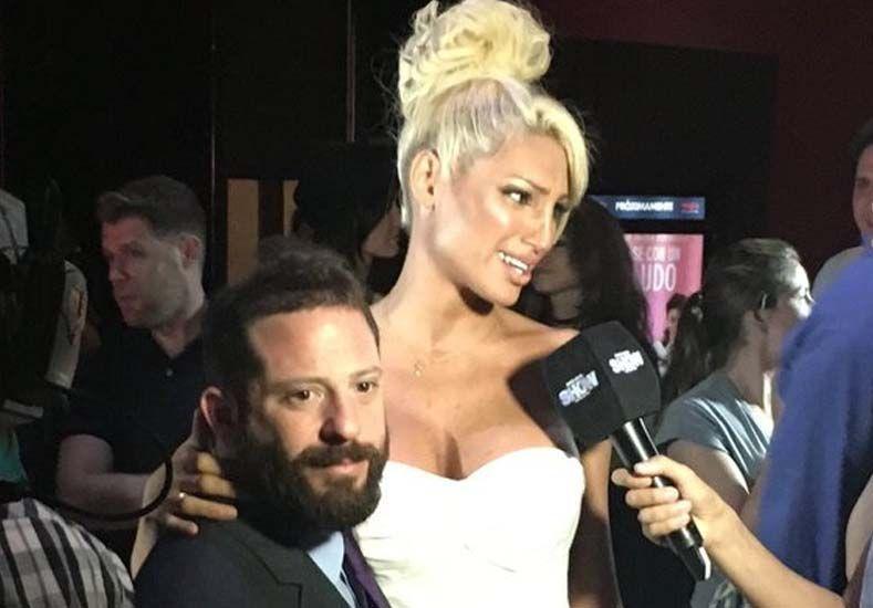 Vicky Xipolitakis y José Ottavis, juntos en la presentación de Me casé con un boludo