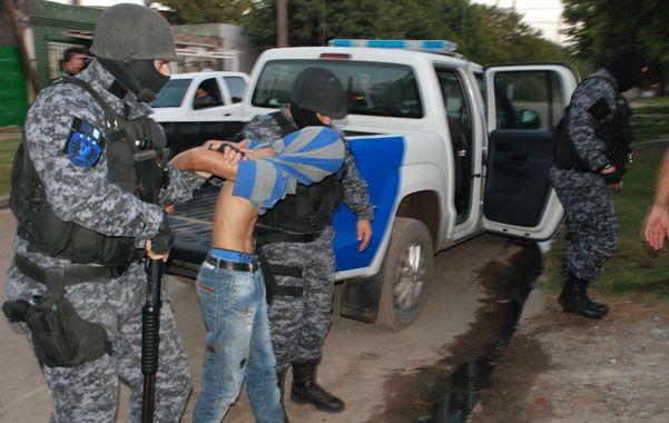 operativo. La organización cayó tras 24 allanamientos en viviendas de Pérez.
