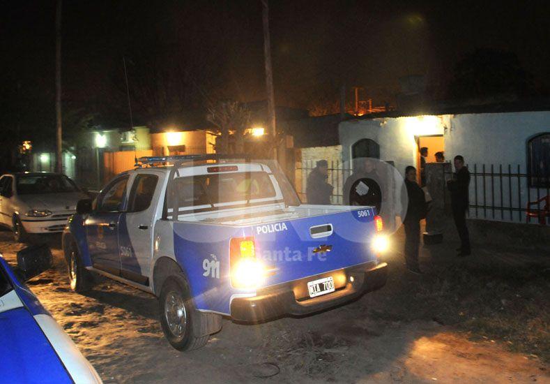 Sangriento. El asesinato de Griselda Correa sucedió en Diez de Andino al 6700 de barrio Estrada Norte. UNO de Santa Fe/José Busiemi