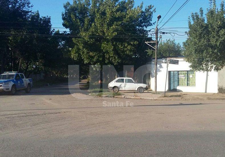 El lugar. La esquina donde se dio la balacera fatal.