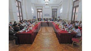 Multisectorial. Se concretó un encuentro para realizar un seguimiento de la situación del empleo. UNO de Santa Fe/Manuel Testi