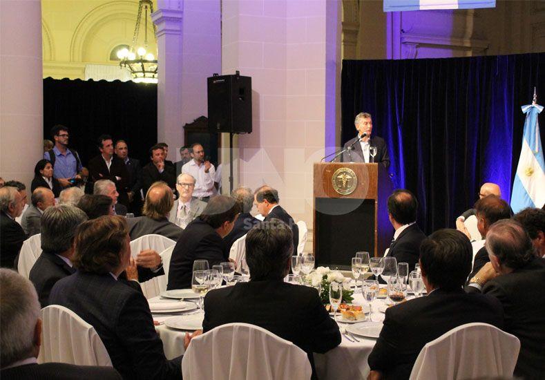 Corral compartió un almuerzo de trabajo con Macri y empresarios santafesinos