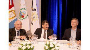 """Lifschitz con Macri: """"Santa Fe quiere ser protagonista de un proyecto de desarrollo integrado"""""""
