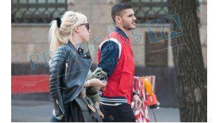 Preocupación: Wanda Nara consuela a Mauro Icardi