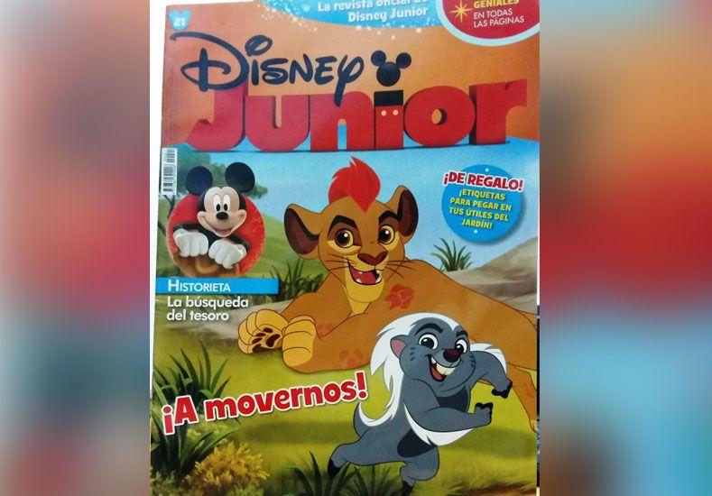 Este martes pedí opcional la revista de Disney Junior