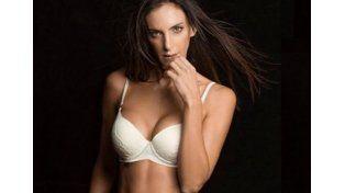 Luciana Aymar y una campaña de ropa interior muy hot