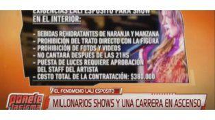 Lali Espósito, la máquina de generar millones