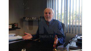 José Vignatti abordó todos los temas  en un mano a mano con Ovación que se desarrolló en sus oficinas./ José Busiemi.