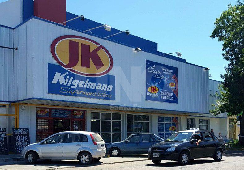 El supermercado fue robado el pasado viernes por la tarde