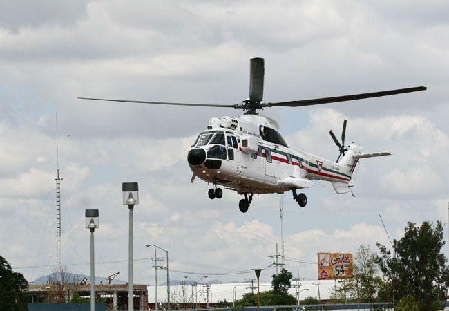 Presidencia negó que el helicóptero de Macri haya estado cerca de chocar