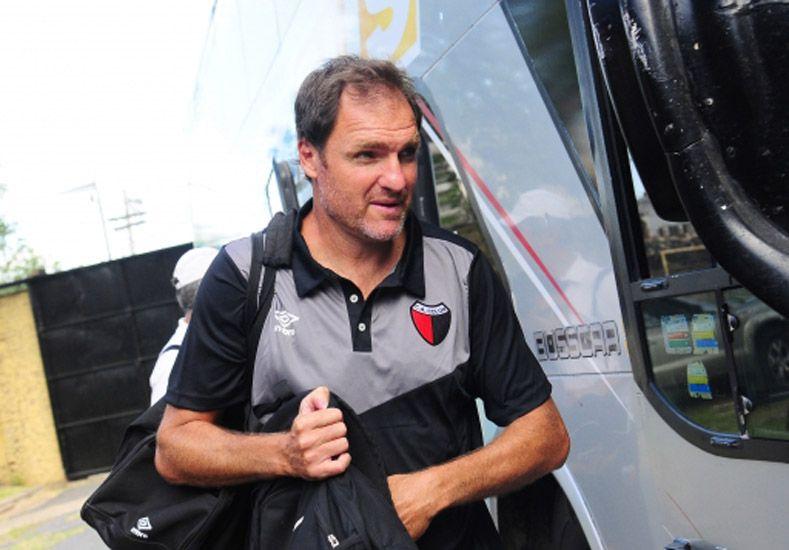 Darío Franco destacó los errores que cometió el equipo y que deben ser mejorados en el choque ante River / Foto: Gentileza Prensa Colón