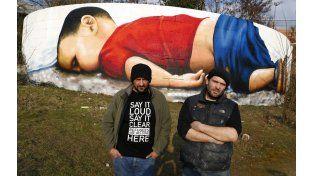 Los artistas Justus Becker