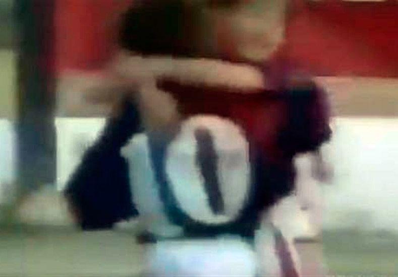 Inédito video muestra un golazo de Messi a los ocho años