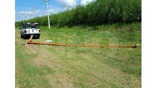 Una mujer resultó herida tras chocar una columna de luz en la circunvalación oeste