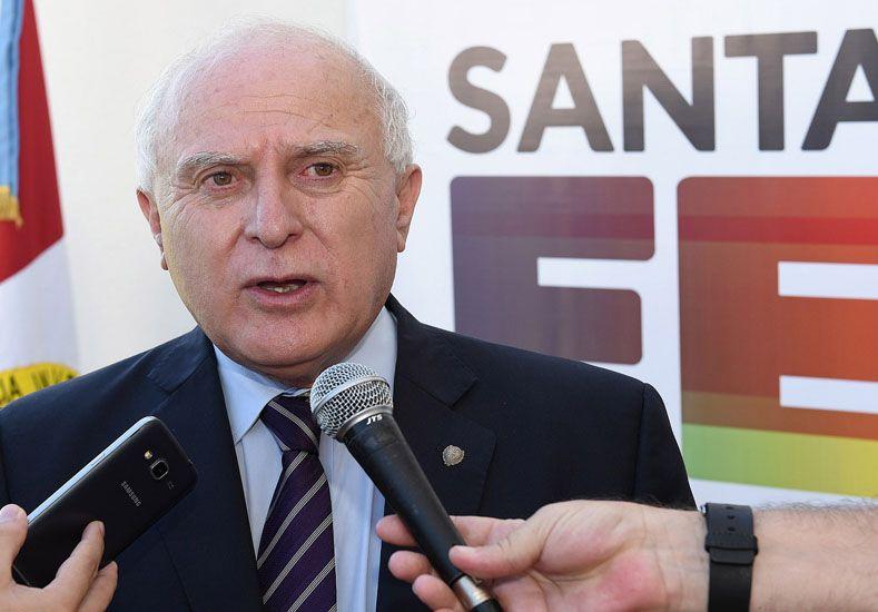 Lifschitz aseguró que los aumentos de la EPE en Santa Fe son menores que en otras jurisdicciones