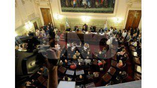 Sin diferencias. La ley fue aprobada en general por unanimidad y solo se discutió la redacción de dos artículos / Foto: Juan Manuel Baialardo - Uno Santa Fe
