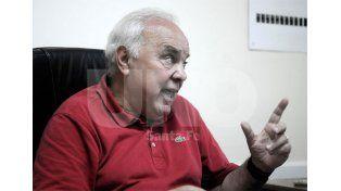 Marcelo Ferraro charló con Ovación y contó detalles de lo sucedido en la reunión de Comisión Directiva / Foto: Juan Manuel Baialardo - Uno Santa Fe