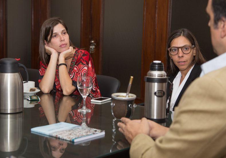 Corral recibió a funcionarias de Desarrollo Social de la Nación