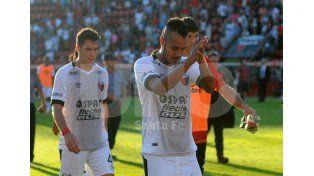 Ismael Benegas arrastra una lesión que podría dejarlo afuera del compromiso del domingo frente a River / Foto: José Busiemi - Uno Santa Fe