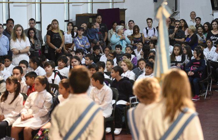Los alumnos tendrán clases normalmente tras el acuerdo entre los docentes y el gobierno provincial. (foto archivo: Sebastián Suárez Meccia)