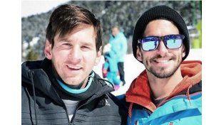 Messi disfrutó de unos días en la nieve de Andorra junto a su familia y amigos