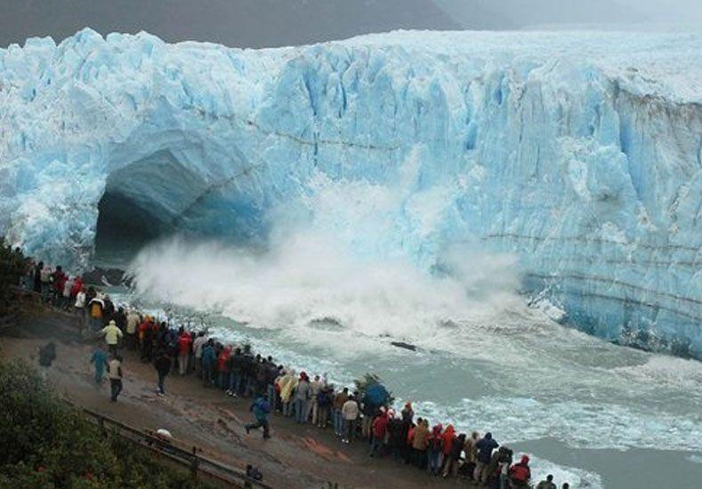 Seguí EN VIVO la ruptura del Glaciar Perito Moreno