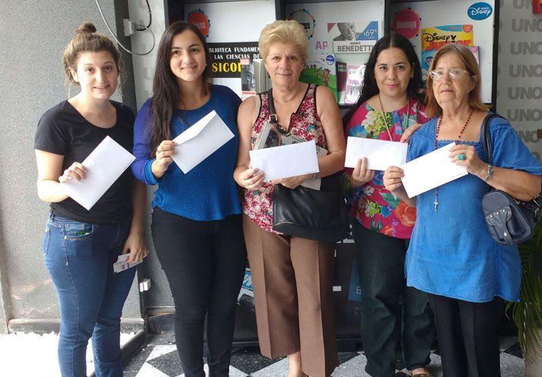 Beneficios UNO les regaló a las suscriptoras vouchers para Pilates Recoleta.