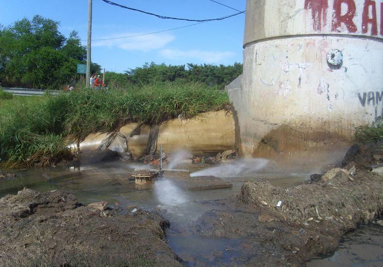 Alto Verde: redujeron la pérdida de líquidos cloacales