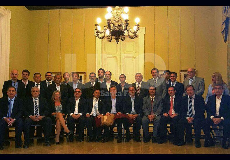 Intendentes de las ciudades capitales almorzaron con Mauricio Macri