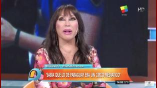 Moria Casán contó sus días en la cárcel y habló del episodio de la droga