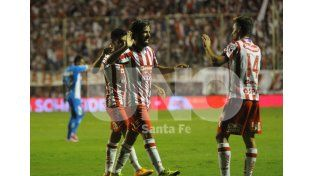 Diego Villar convirtió su primer gol desde que llegó a Unión. Foto: José Busiemi / UNO Santa Fe