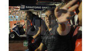 Madelón se hizo cargo de la derrota y anticipó que van a hacer un buen partido en La Bombonera. Foto: José Busiemi / UNO Santa Fe
