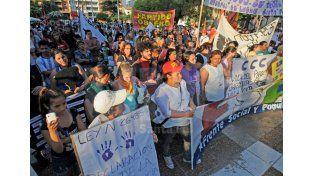 Ni Una Menos. El 3 de junio la sociedad realizó la primera gran manifestación pública en defensa del derecho de las mujeres a vivir sin violencia. Foto: Manuel Testi / UNO Santa Fe