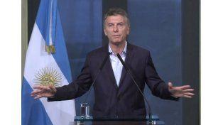 Macri: Cerrar la deuda con los holdouts es clave para construir la confianza que queremos generar