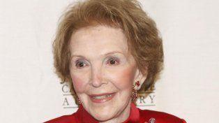 Murió Nancy Reagan, la primera dama de la época de oro del conservadurismo