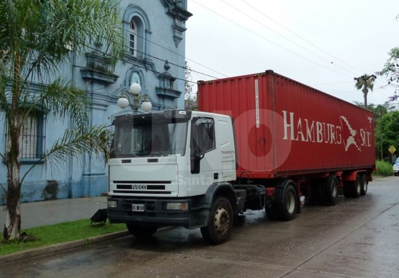 Los 1.600 kilos de marihuana estaban en un container hallado en la localidad de Arroyo Leyes