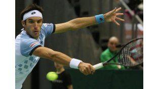 Leo Mayer ganó su punto ante Polonia y la Argentina pasó a cuartos de la Davis