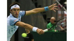 Leo Mayer ganó el segundo set en el cuarto punto de la serie argentina ante Polonia