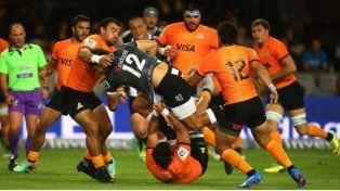 Ajustada derrota de Los Jaguares ante Sharks en Durban Fotos: gentileza Prensa Jaguares.