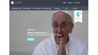 Crearon una app para rezar con el Papa