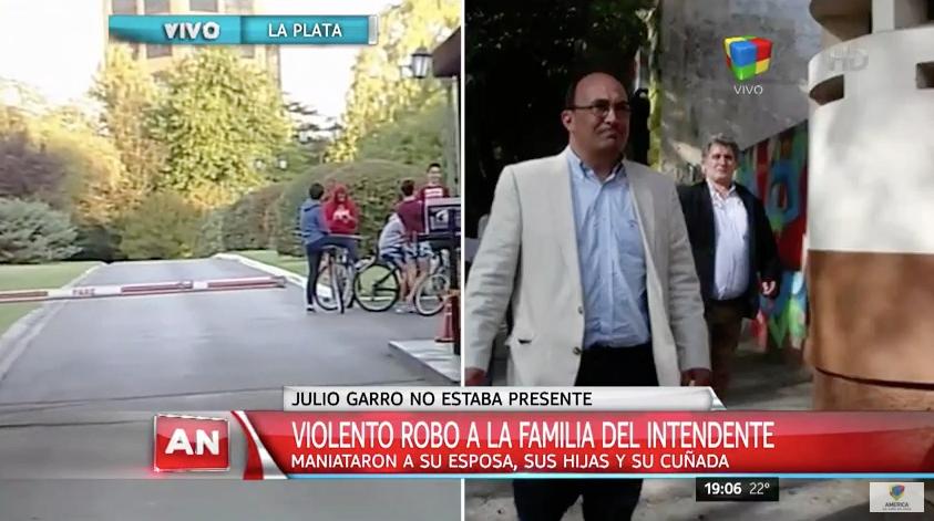 Violento asalto a la familia del intendente de La Plata
