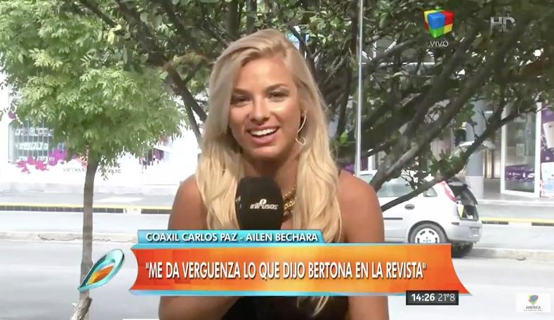 """Ailen Bechara abrió su corazón: """"Sigo enamorada de Bertona"""""""