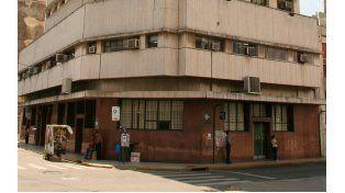 Sede de la Caja de Jubilaciones y Pensiones en la ciudad de Santa Fe.