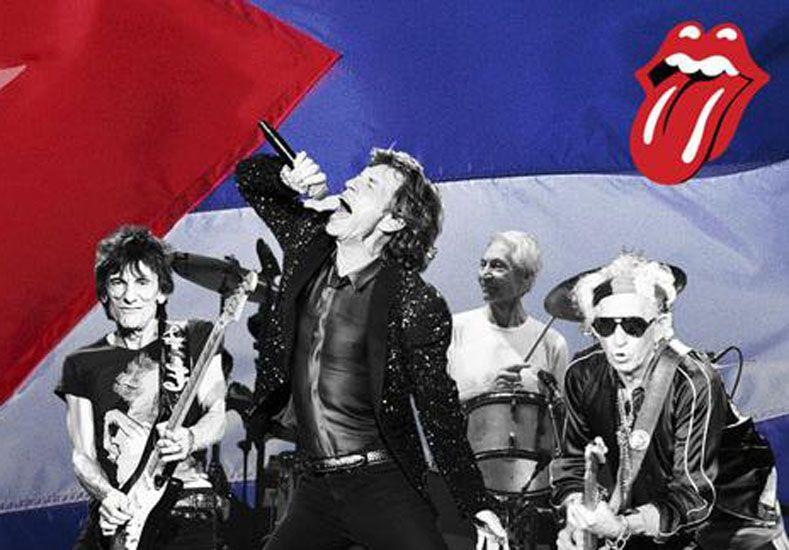 Los Stones confirmaron su histórico show gratuito el 25 de marzo en La Habana