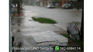 Diego Santa Cruz envió esta foto de calle Mendoza
