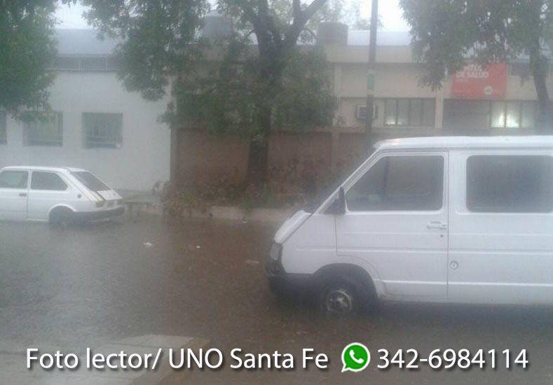 Diego Santa Cruz envió esta foto desde barrio Centenario.