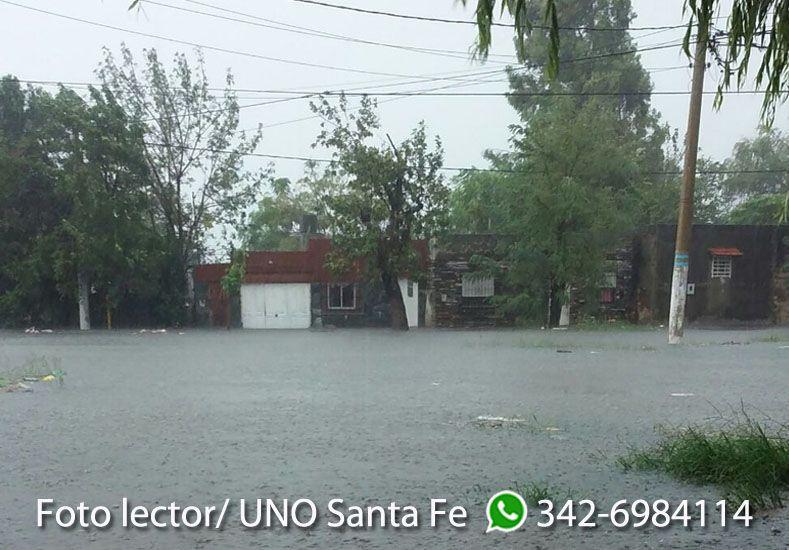 Así está barrio Alfonso en la esquina de Mosconi y Moreno. Gentileza: Carlos