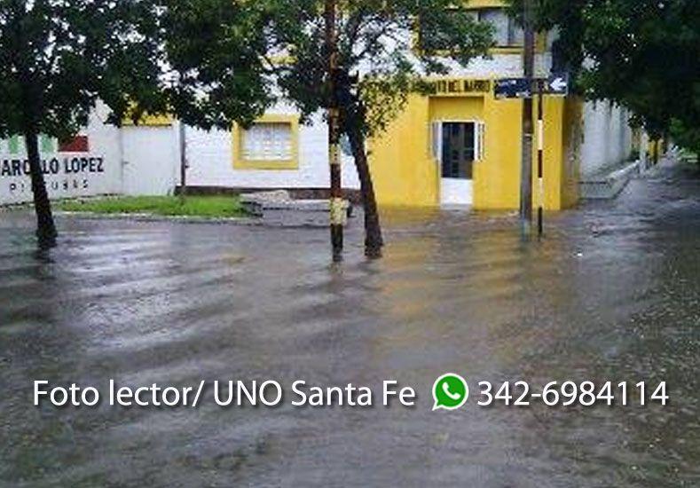 Así estaba la esquina de Domingo Silva y Francia en barrio Pro Adelanto Barranquitas. Gentileza: Freddy Pennisi