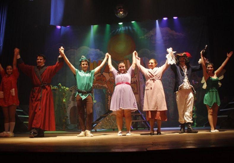 Para todos. Los grupos trabajan en conjunto para presentar lo aprendido en una obra de teatro a mediado de año y a fin de año como cierre de temporada.